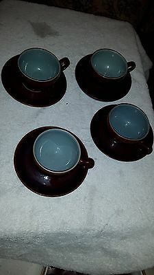 4 Cups And Saucers