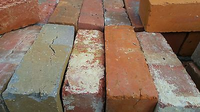 Bricks Red Old Second Hand