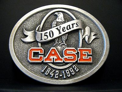 1992 J I Case Corporation 150 Years Eagle Logo Belt Buckle Limited Edition #1916