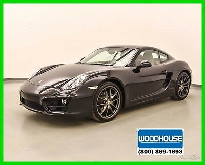 2014 Porsche Cayman Coupe 2014 Coupe Used Certified 2.7L H6 24V Manual RWD Premium