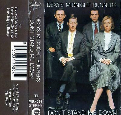 Dexys Midnight Runners Don't Stand Me Down Cassette Mercury Merhc 56