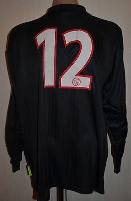 Ajax Amsterdam 2001/2002 Match Worn Goalkeeper Football Shirt Adidas Equipment