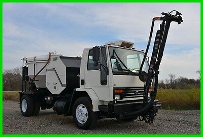 1994 Ford cab over truck with Rasco RA300 Pothole Patcher