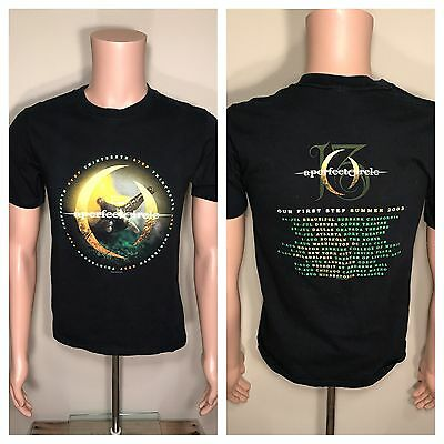 A Perfect Circle Original 2003 13th Step Tour Shirt SMALL Tool Thirteenth Step S