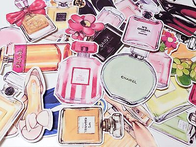 Planner Stickers - Chanel Perfume