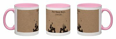 Pet Shop Boys - Literally [2016] Pink Coffee Mug  *one-Off Exclusive~Hurry!!