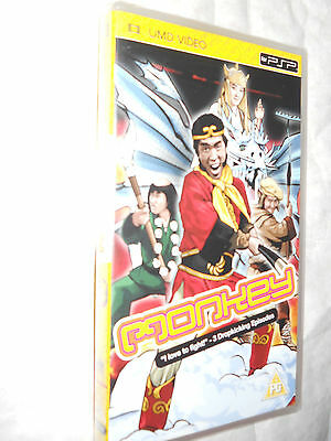 Monkey - 3 Episodes Of The Classic Tv Series On Umd For Sony Psp New And Sealed