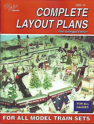 COMPLETE LAYOUT PLANS For All Model Train Sets: 150 train layouts (NEW BOOK)