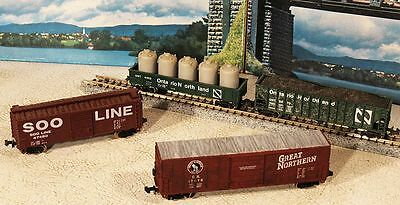 Ontario Northland N Scale Freight Cars Soo, Great Northern.......Scroll Down