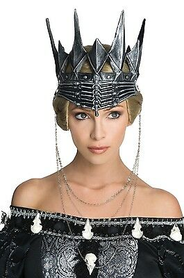 Evil Queen Ravenna Antique Silver Crown Snow White and The Huntsman Medieval