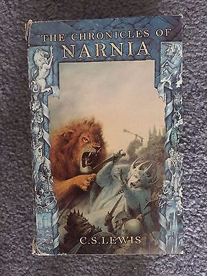 The Chronicles of Narnia box set by C.S Lewis. Paperback