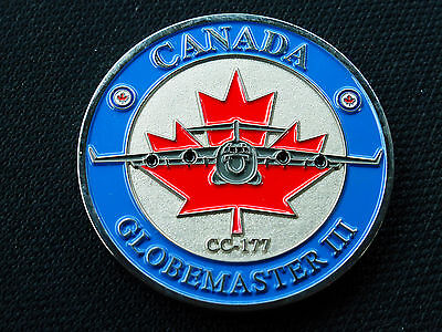Rcaf Canada Challenge Coin   Cc-177 Globemaster Iii  Air Force