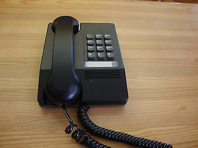 Vintage Black Harmony Northern Telecom Desk Telephone Made In Canada