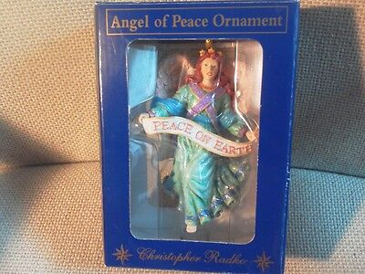 Christopher Radko Angel of Peace Ornament -2010745