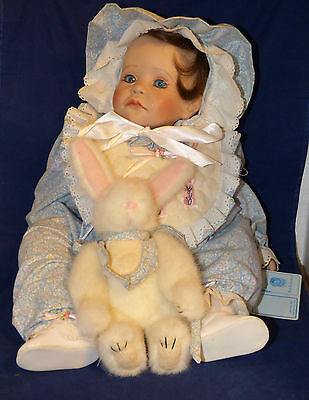 "Royal Vienna ""Katie"" Crying Baby Doll Marcy Cohen Lloyd Middleton 19"""