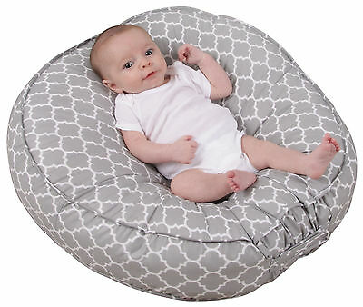 Leachco Podster Sling-Style Infant's Lounger Moroccan Gray 323623