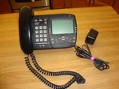 Vintage Aastra Charcoal Vista 470 Desk Telephone