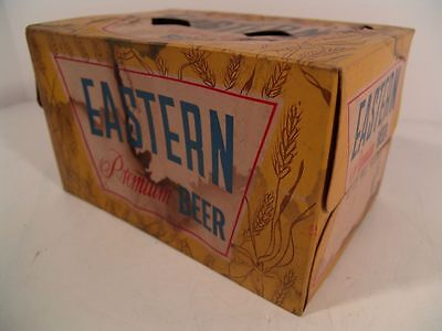 EASTERN PREMIUM BEER 6-Pack Flat Top Can Carrier Carton CHICAGO, ILLINOIS