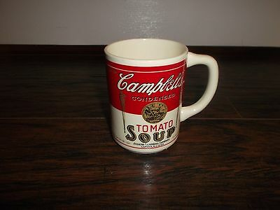 CAMPBELL\'S Soup Coffee Mug - Condensed Tomato Soup - Vintage 1960\'s ...