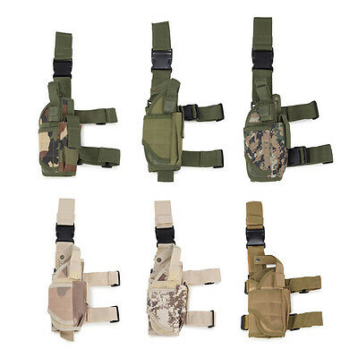 Outdoor Sports Tactical Military Drop Leg Bag Panel Utility Hiking Accessory Bag
