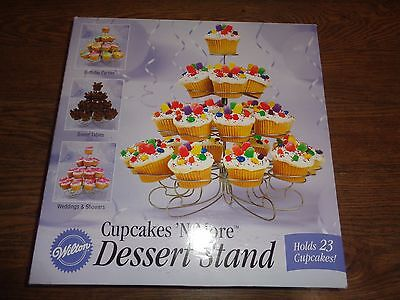 Wilton Cupcakes 'N More Dessert Stand - Ex. Condition