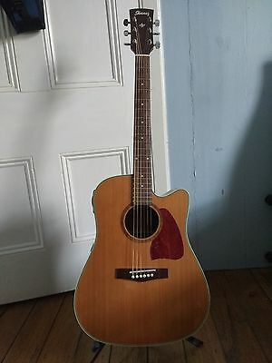 Ibanez aw15ce-lg acoustic / electric guitar