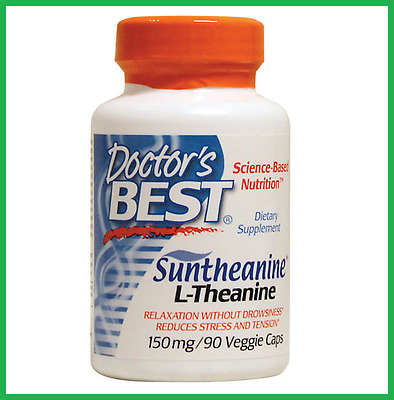 Doctor's Best L-Theanine 150mg 90 Capsules - Suntheanine - AUS STOCK FAST SHIP