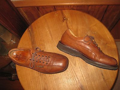 MEPHISTO    Leather on Rubber   Lace-up    Casual  Shoes    Mens  US  9.5 Medium