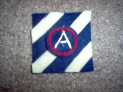 WWI US Army 3rd Division,Third Army Patch AEF