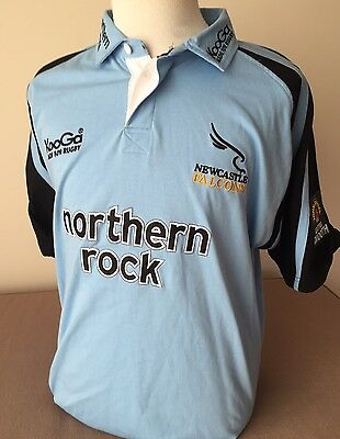 England Rugby Union Newcastle  Falcons Mens Polo Shirt As New Size XL