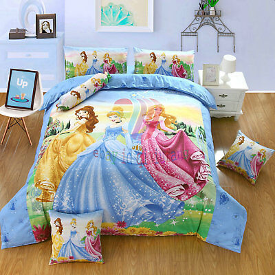 New Harry Potter 7Pcs Twin Full Queen Size Blue Comforter In A Bag Free Shipping