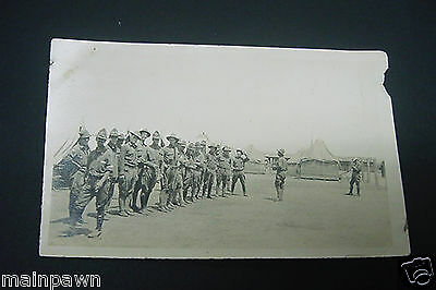US Army Soldiers Truck Co #7 Mexican Expedition Columbus NM Pancho Villa Raid