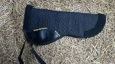 Black Half Pad - Used Once - Great Condtition