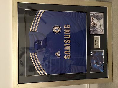 Frank Lampard Signed Shirt With Coa