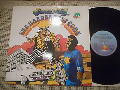 JIMMY CLIFF THE HARDER THEY COME  rare OST GERMAN ISLAND LP