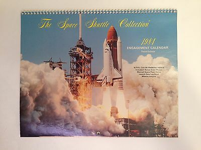 The Space Shuttle Collection 1984 Engagement Calendar