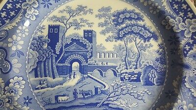 Spode Blue Room Collection 'Castle' Plate , Made in England