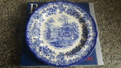 Spode Blue Room Collection 'The Tiger Cages' Plate , Made in England