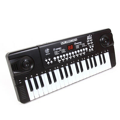 37 Tasten Digital Keyboard mit Mikrofon Touch Response Keyboard Digital E-Piano