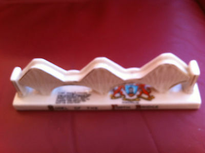 A rare model of Forth Bridge by Carlton China Stoke on Trent