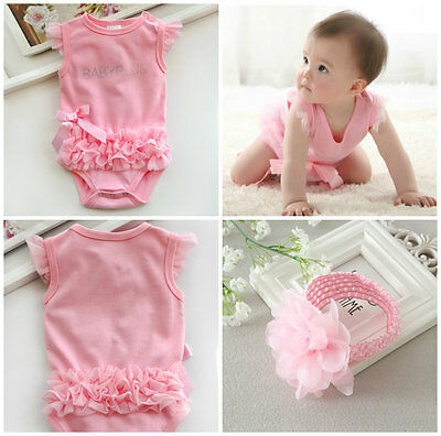 newborn baby girls clothes princess bodysuit birthday party Christening dress