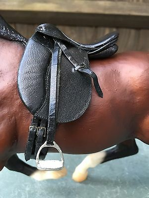 Model Horse Traditional Scale English Dressage Saddle By Jeanne Myers