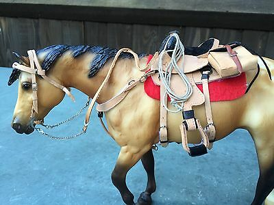 Model Horse Traditional Scale Western Tack Set
