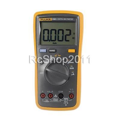 FLUKE 15B+ F15B+ Auto Range AC DC Voltage Current Digital Multimeter Meter
