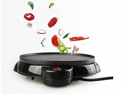 Electric Crepe Pizza Crust Maker Cookware Pancake Cooking Machine