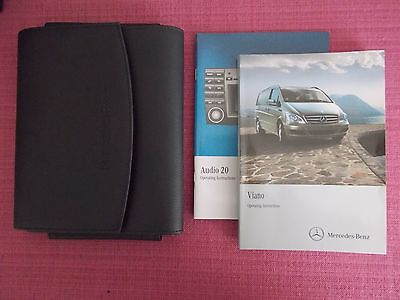Mercedes-Benz Viano (2010 - 2014) Owners Manual - Owners Guide - Handbook Me 274