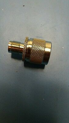 TNC female to N type male adapter