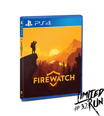 Firewatch PS4 Limited Run Games #32 New Sealed