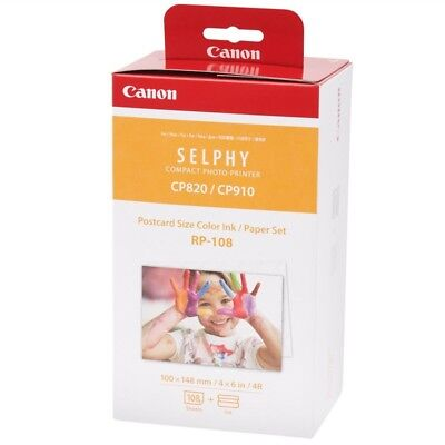 CANON Consommable kit papier RP-108IN 2 X 54 Feuilles