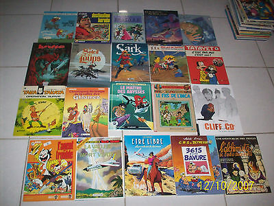 lot de 20 bandes dessinées livres (lot 5)